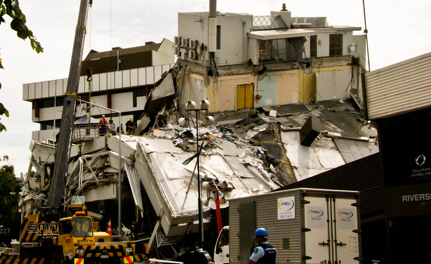 Does your insurance policy cover earthquake damage?